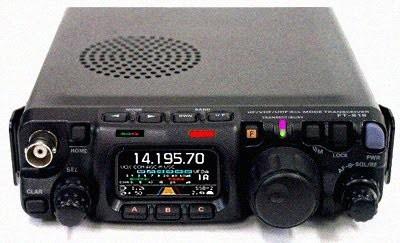 Yaesu FT 817 vs Yaesu FT 857 in portable operation