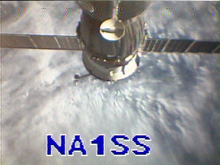 ISS activates SSTV ! QRPers stay tuned
