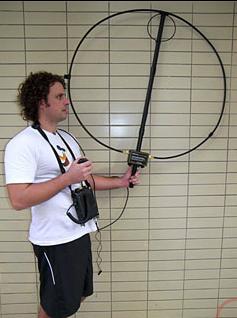 Alex Loop antenna and remote tuner