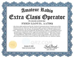 Extra Class Certificate.ai