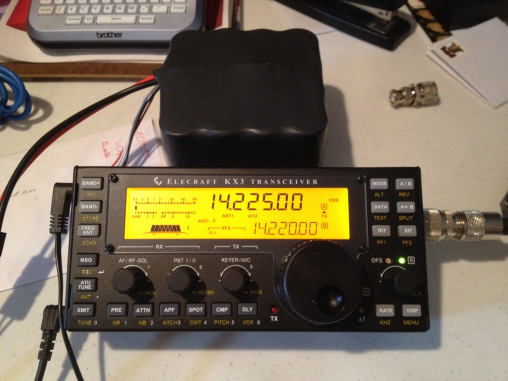 Maximizing battery life of Elecraft KX3 QRP