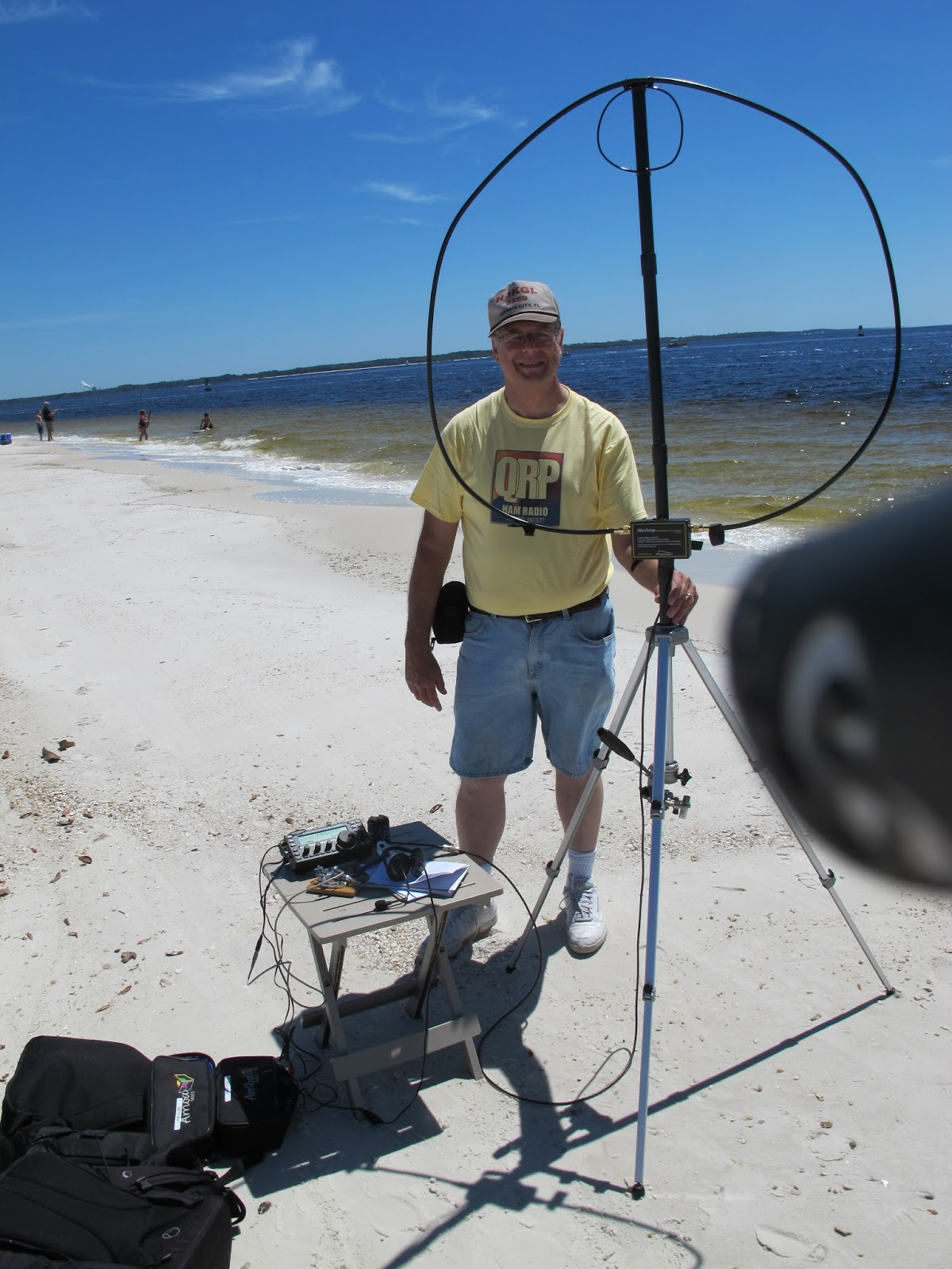 Newsuperantenna as well Qsl Portable2 together with 261901 Can You Help Identify Portable Antenna in addition Antenna Tower besides Hartley. on tripod for ham radio antenna