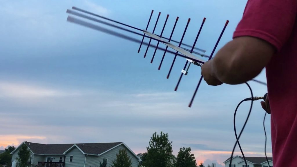 The arrow antenna to receive with your QRP the ISS